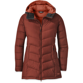 Outdoor Research Transcendent Parka de Plumas Mujer, madder